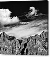 A Curl In The Sky Canvas Print