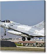 A Dassault Mirage 2000 Of The United Canvas Print