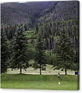 A Day At The Park In Vail Canvas Print