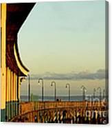 Playland Rye Beach Pier Canvas Print