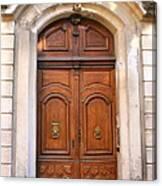 A Door In Arles Canvas Print