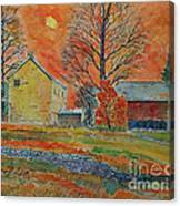 A Dover Pennsylvania Farm Canvas Print