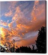 A Dramatic Summer Evening 2 Canvas Print