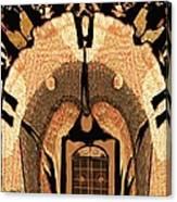 A Facade Canvas Print
