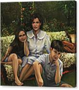 A Family Portrait Canvas Print