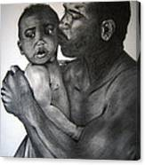 A Fathers Love Canvas Print