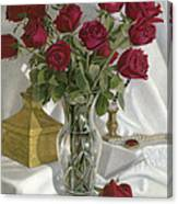 A Fine Romance Canvas Print