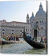 A Float In Venice Canvas Print