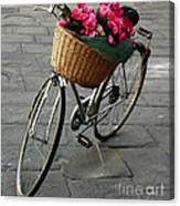 A Flower Delivery Canvas Print