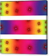 A Fractal Spectrum Canvas Print