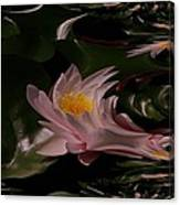 A Fractual Lily Canvas Print