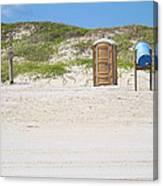 A Full Service Beach Canvas Print