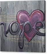 A Future Of Hope Canvas Print