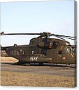A German Ch-53gs Helicopter At Stendal Canvas Print