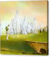 A Ghost Of A Chance Canvas Print