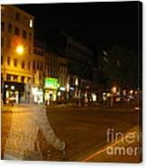 A Ghost Of Antwerp. Belgium. Canvas Print