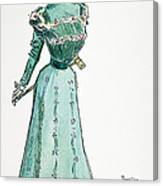 A Gibson Girl, 1899 Canvas Print
