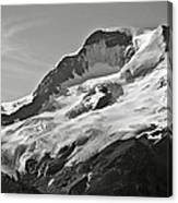 A Glacier In Jasper National Park Canvas Print