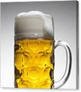A Glass Mug Of Beer Canvas Print