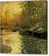A Golden Autumn At The Unami Canvas Print