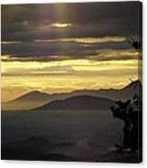 A Golden Morning Creation  Canvas Print
