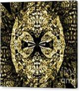 A Gothic Guise Of Gold Canvas Print