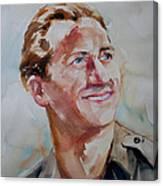 A Great Man Canvas Print
