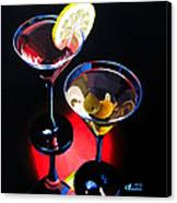 A Hint Of Lemon And Olives Canvas Print