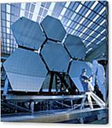 A James Webb Space Telescope Array Canvas Print