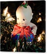 A Kewpie Christmas Gift Canvas Print