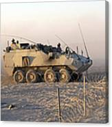 A Lav IIi Infantry Fighting Vehicle Canvas Print