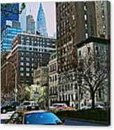 A Little Slice Of New York Canvas Print