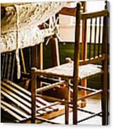 A Loom For Grandma Canvas Print