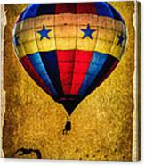 A Man And His Balloon Canvas Print