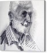 A Man Canvas Print