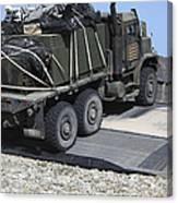 A Medium Tactical Vehicle Replenishment Canvas Print