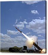 A Mim-104 Patriot Anti-aircraft Missile Canvas Print