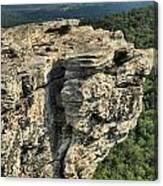 A Mountain Perspective Canvas Print