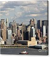 A New York City Afternoon Canvas Print