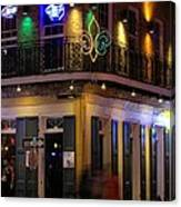 A Night In The French Quarter Canvas Print
