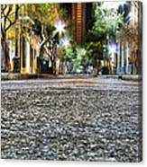 A Night On The Street Canvas Print