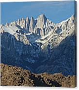 A Panoramic View Of Mount Whitney Canvas Print