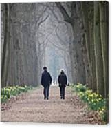 A Peaceful Stroll Canvas Print