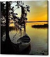 A Peaceful Sunset Canvas Print