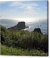 A Perfect View Canvas Print