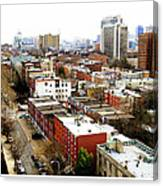 A Philadelphian View Canvas Print