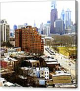 A Philadelphian View Two Canvas Print