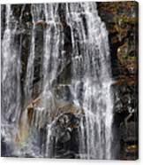 A Piece Of Whitewater Falls Canvas Print