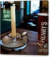 A Pint Of Henry's Canvas Print