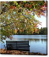 A Place For Thanks Giving Canvas Print